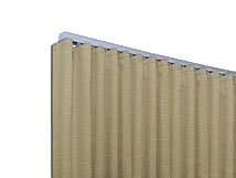 Ripple Fold Pleat