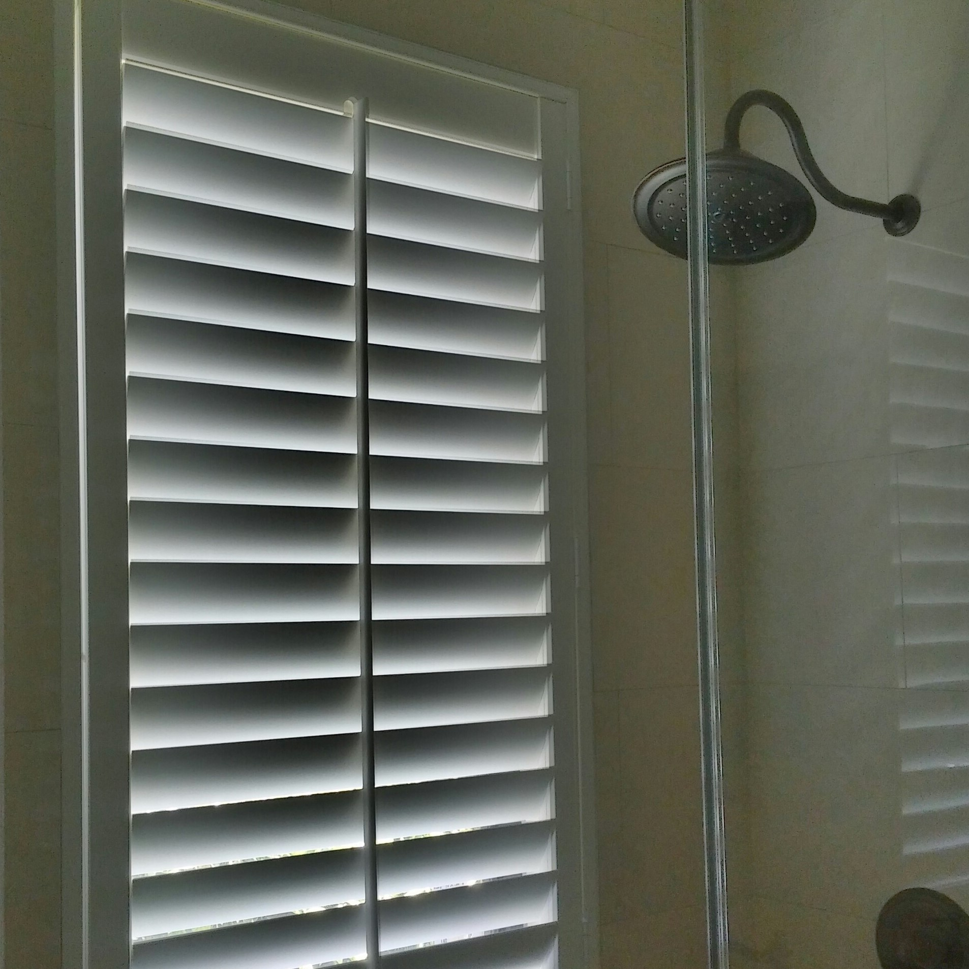Ford Window Treatments Polysatin Waterproof Shutters Are Ideal For Windows In A Shower